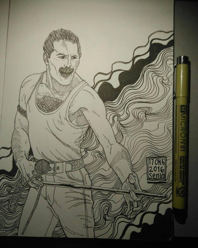 Freddie Mercury by alfatputra21