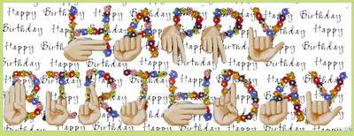 Happy Birthday Asl Alphabet By Vicozia On Deviantart