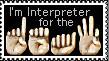 Interpreter Stamps by VICOZIA