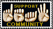 support deaf community by VICOZIA