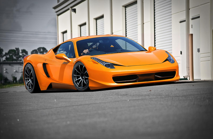 Ferrari 458 Italia by Mars-gtr on DeviantArt