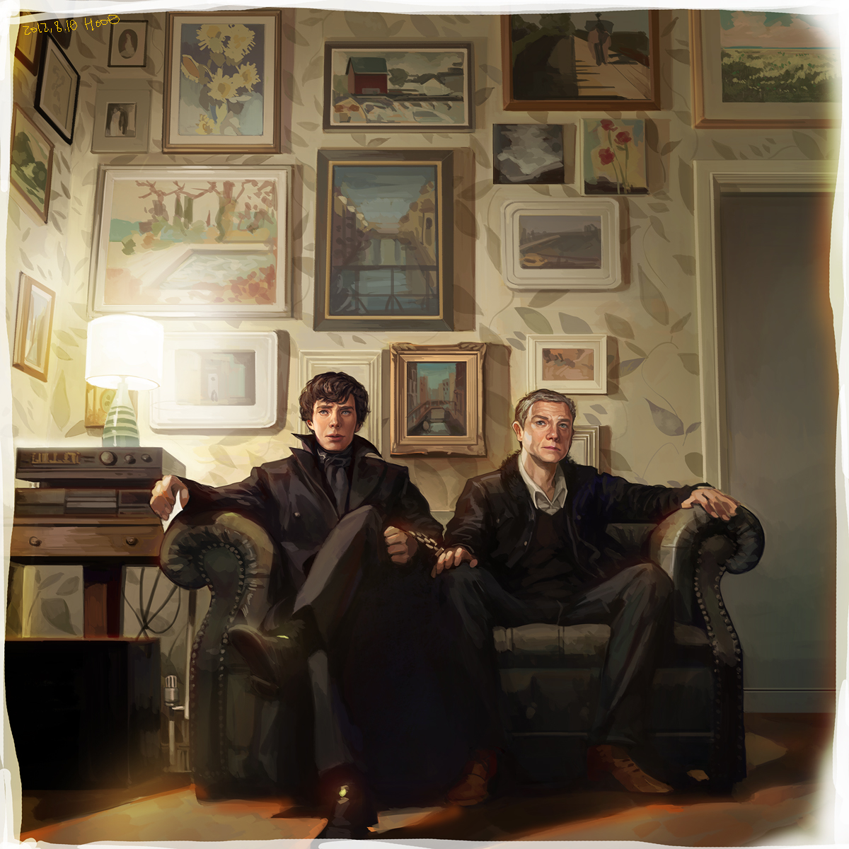 Sherlock and John by hoo0