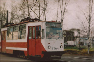 the red tramway by NPenguin