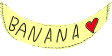 Banana stamp by TrueMefista