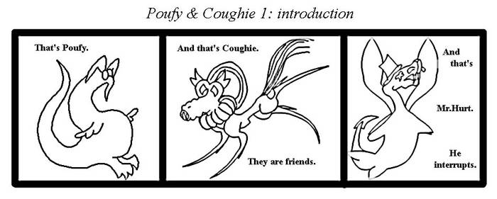 FINALLY FOUND THAT DAMN FILE...Poufy and Coughie#1