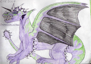 Old picture - Desmonian Oriental Dragon