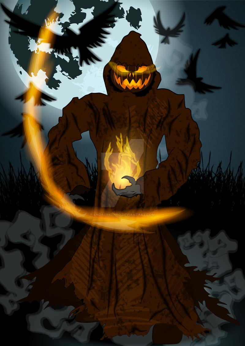 Jack O'Lantern by endaerkened