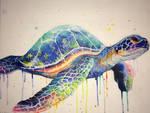 Commissioned Sea Turtle Erin