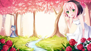 osu! Spring Fanart by yumichoko