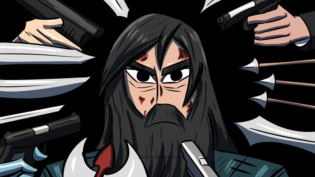 Samurai Jack-Reckoning by waitwtf