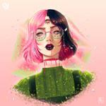 Watermelon girl [OC]