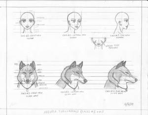 Wolf's Rain: Abbara [TURNAROUND_FACES]