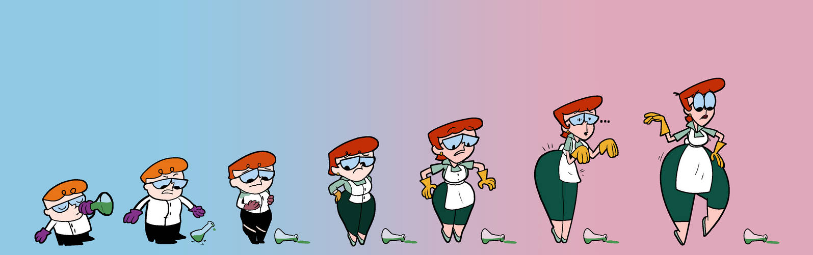 Dexter's Lab TG TF AP Sequence