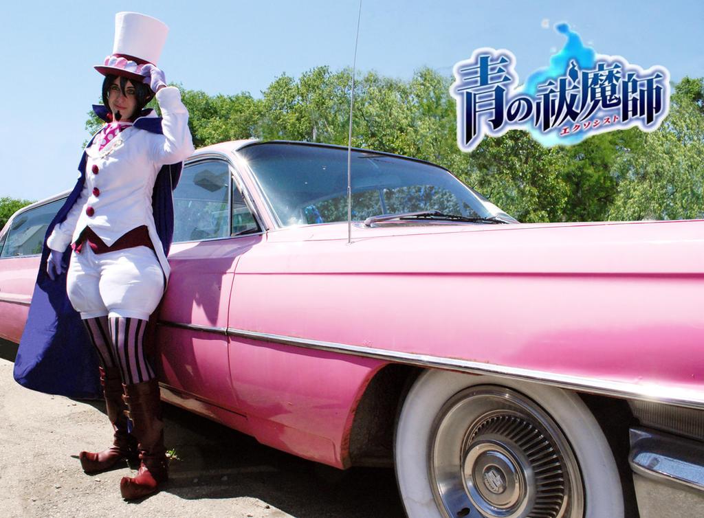 Mephisto: Pink limo anyone? by Kyasuri