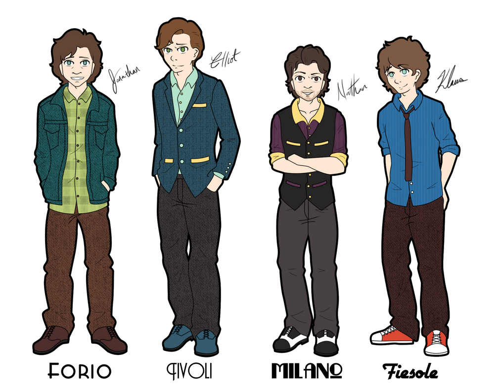 The Mitchell Family by Kyasuri