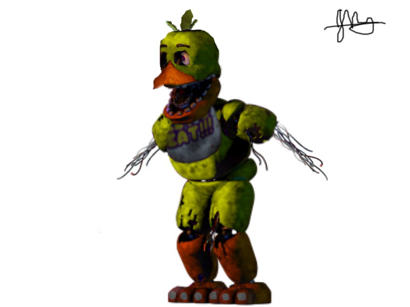 Withered Chica on FiveNightsAtFreddys - DeviantArt