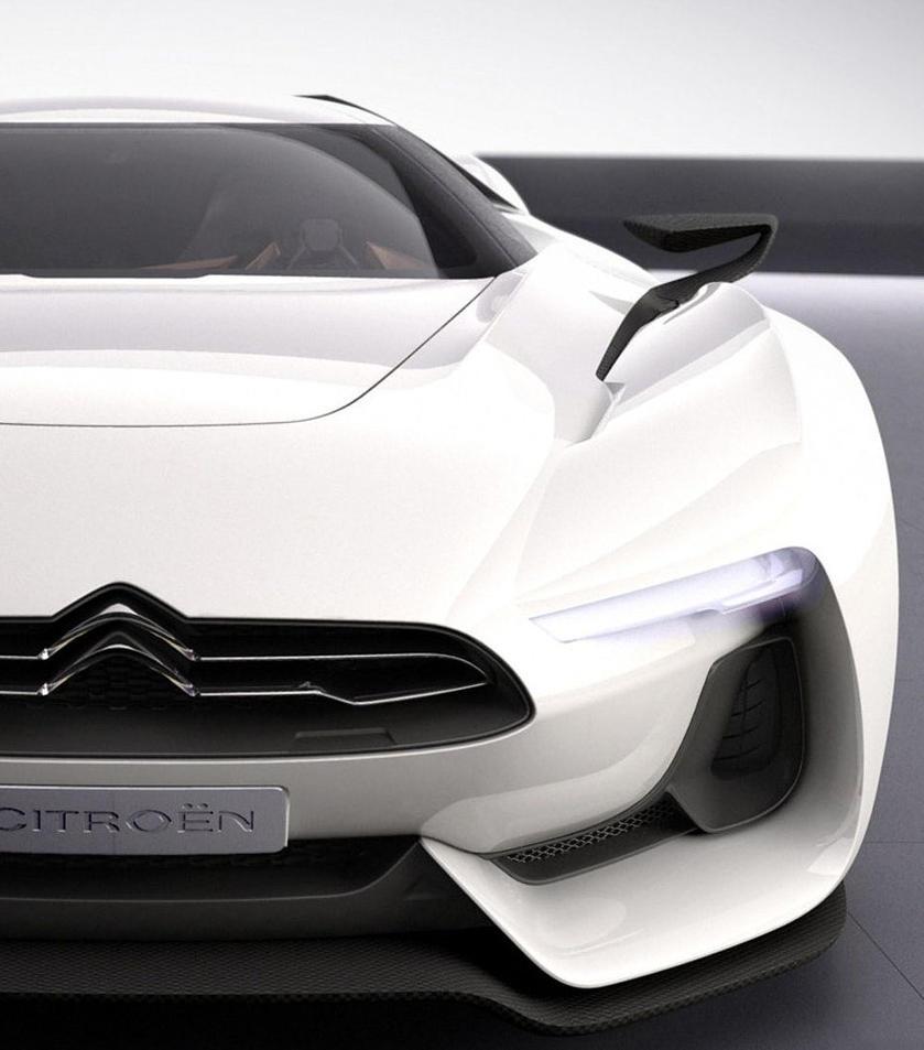 Citroen-Front-Concept-Desktop-Wallpaper By