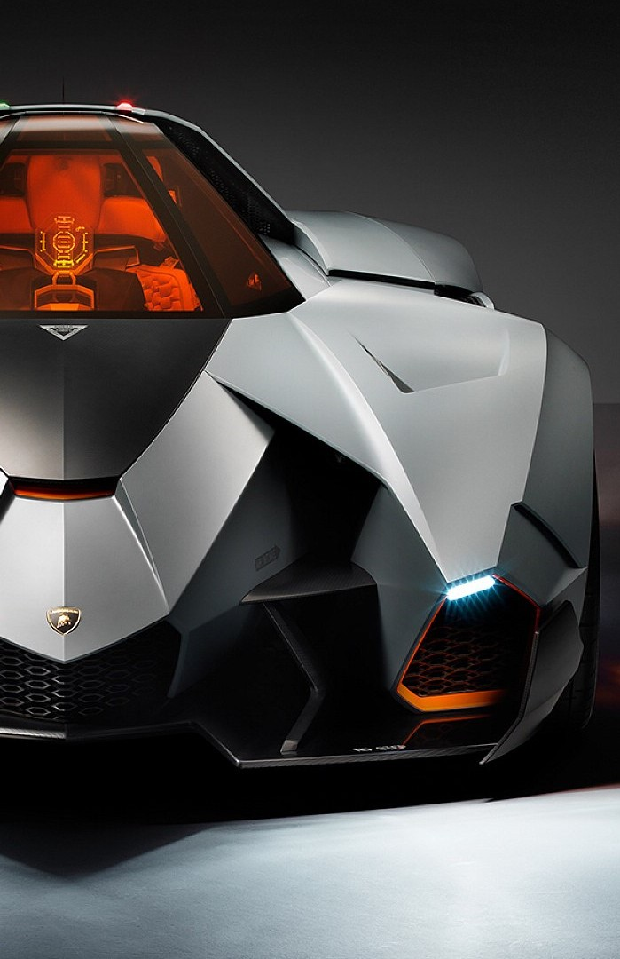 Lamborghini Egoista Front View By Porqueyosoyfederic On Deviantart