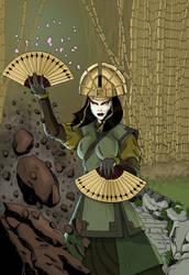 Avatar Kyoshi by blksuperman2