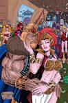 King He-Man and Queen Teela