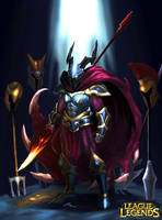 League of Legends- Dragon Hunter Phanteon by joseph1100