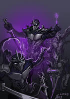 LOL-Shen with hallow by joseph1100