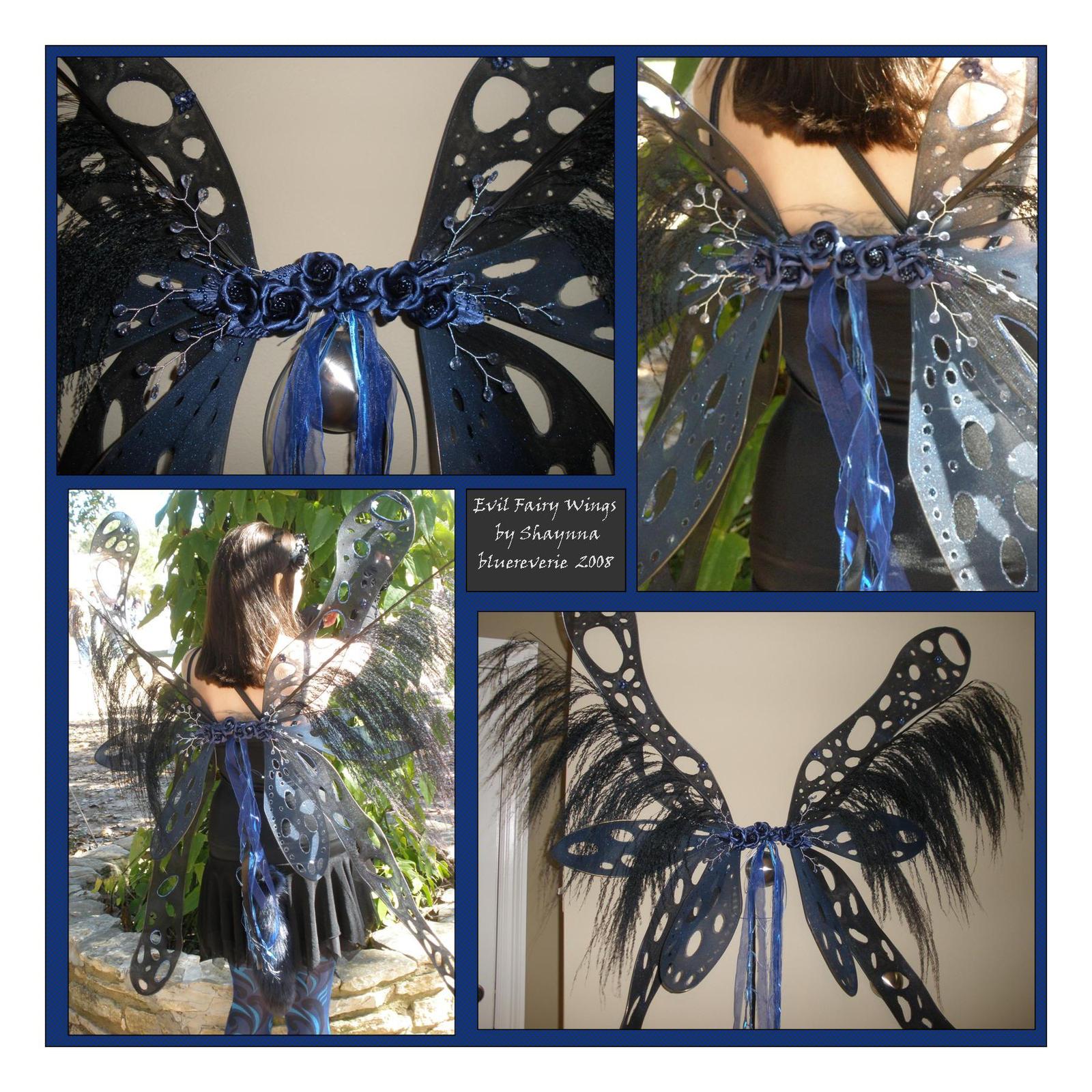 Evil Fairy Wings by bluereverie on DeviantArt