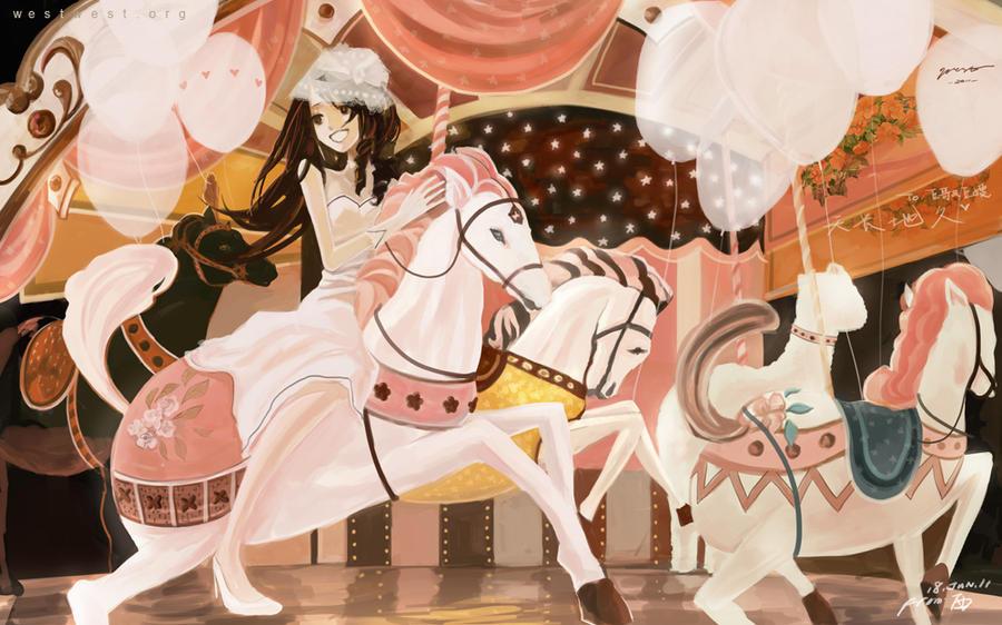 Carousel by XingtongLu