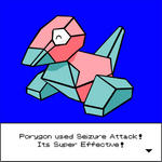 Porygon used Seizure Attack by Drawing-24-7