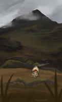 twwm | art trade - through the hills