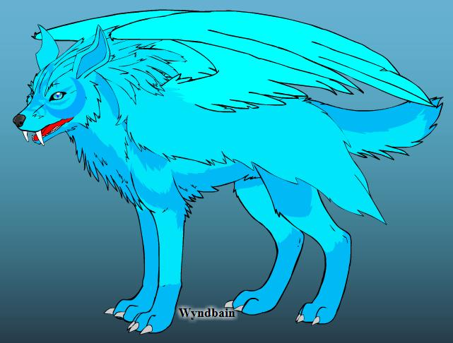 wolf7 by deathlucifer