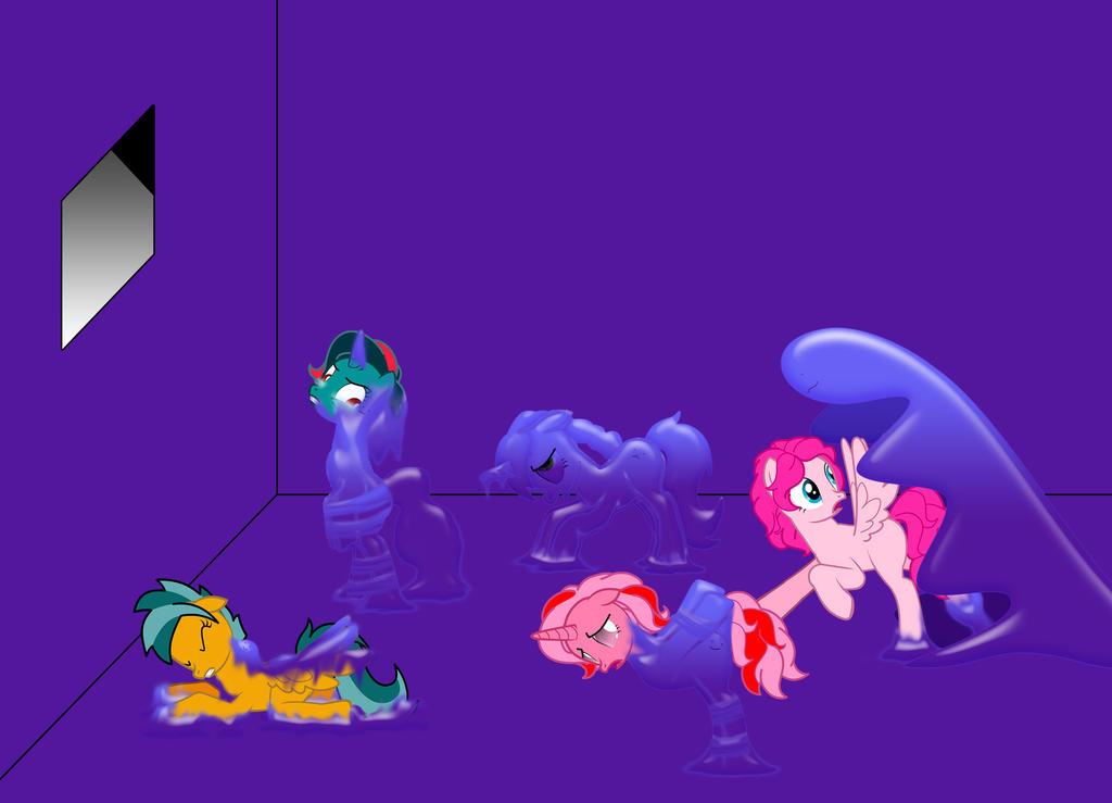 G1 pony VS slime by dingdingxu377
