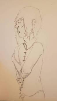 Quick sketch (Should I colour it?)