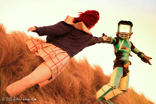 FLCL - Mamimi and Canti