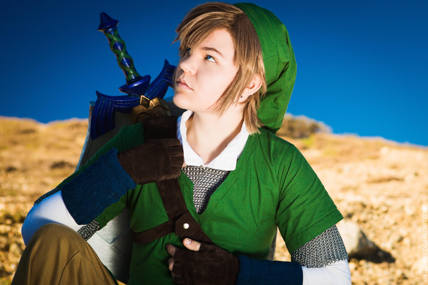 Link - Legend of Zelda Skyward Sword III by fiathriel
