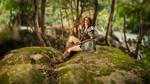 Skyrim - Aela The Huntress II by fiathriel