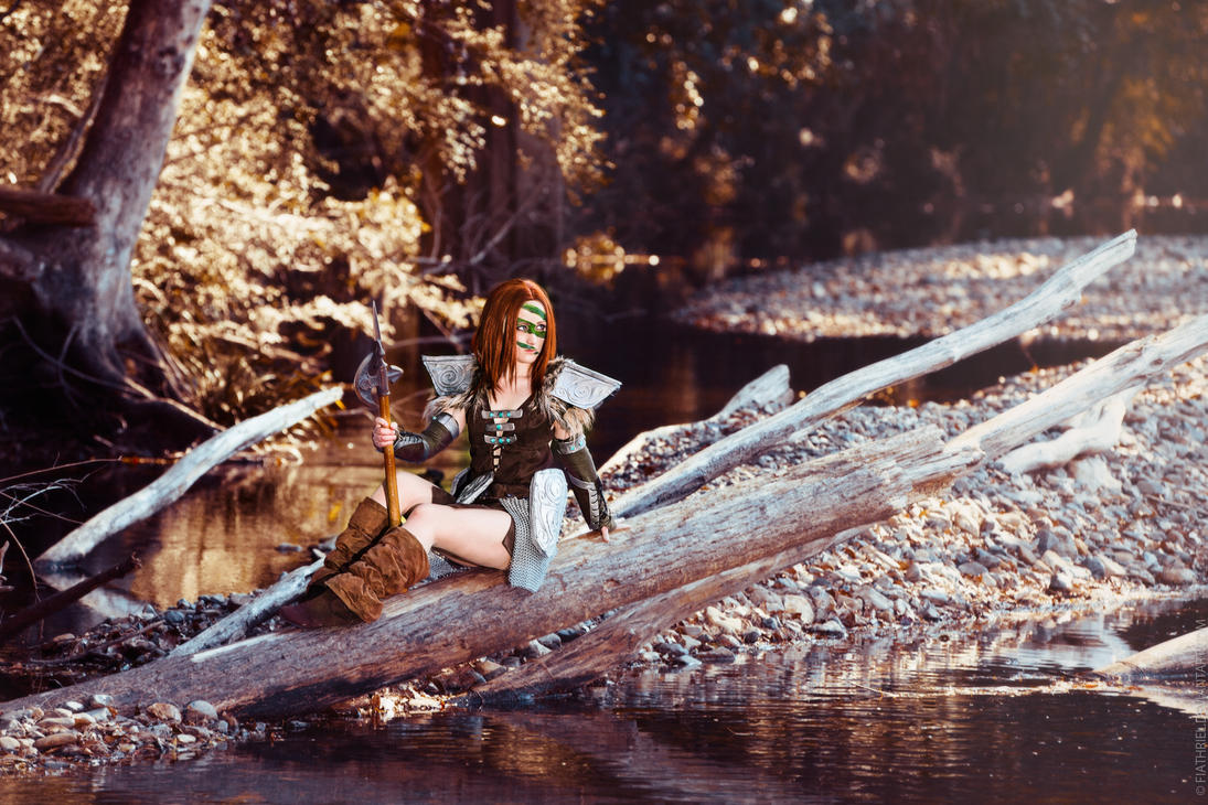 Skyrim - Aela The Huntress IV by fiathriel