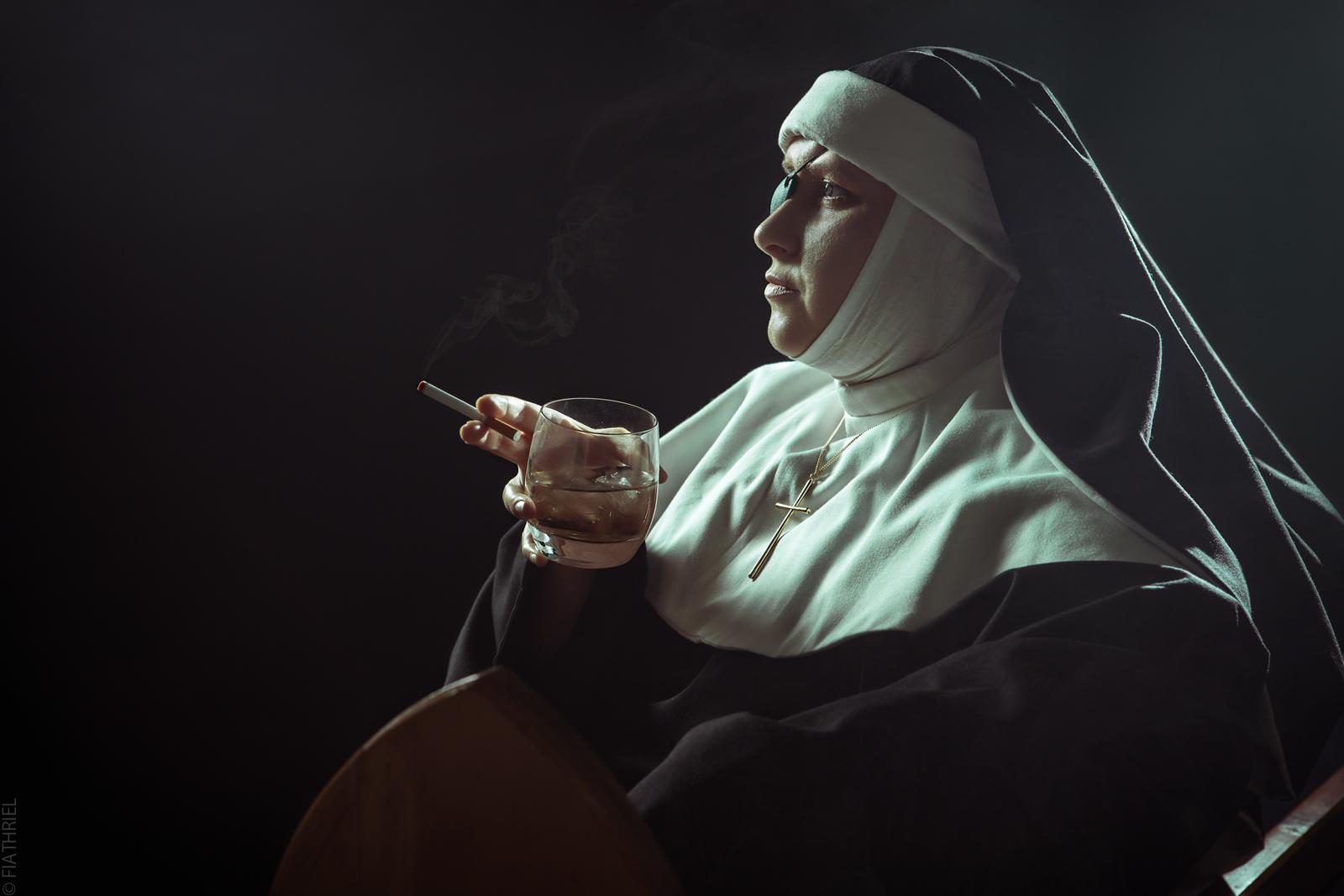 Black Lagoon - Sister Yolanda by fiathriel