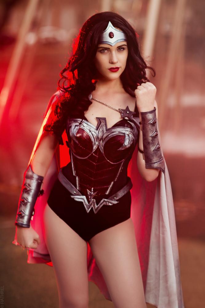 Eve Beauregard - Wonder Woman II by fiathriel