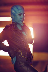 Mass Effect Asari Inspired Cosplay