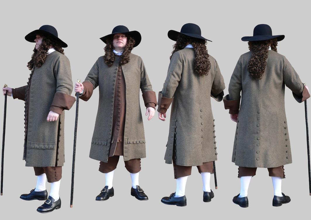 1680 gentleman's dress by Janes-Wardrobe