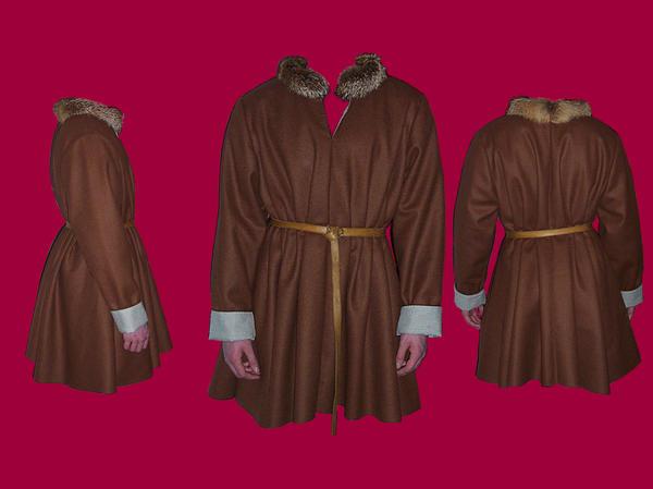 Short Russet Gown by Janes-Wardrobe on DeviantArt