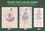 Draw This Again MEME 2016
