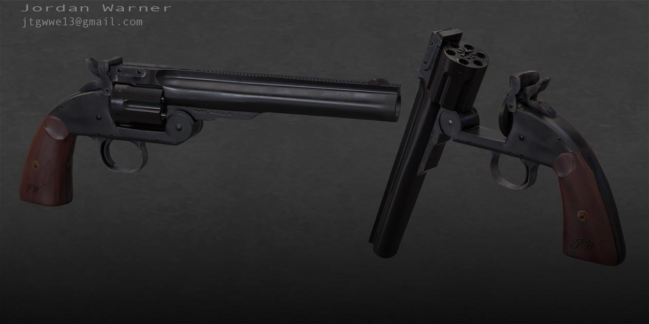 Schofield Revolver by skullwarrior13