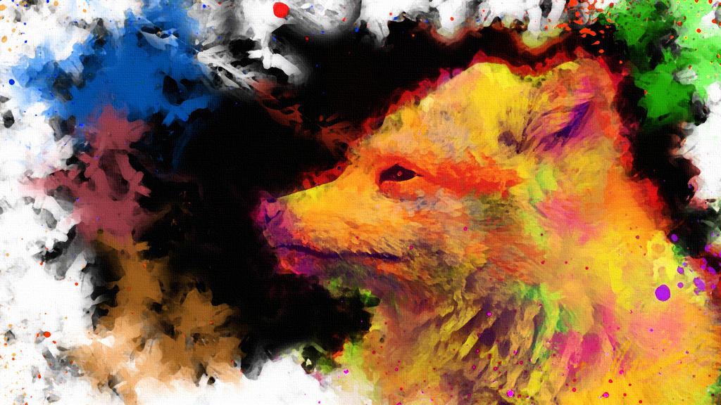-- Fox lost in colors -- by 0l-Fox-l0