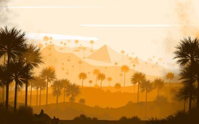 -- Desert -- by 0l-Fox-l0