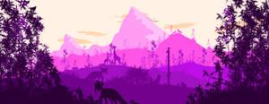 -- Pink Mountain --