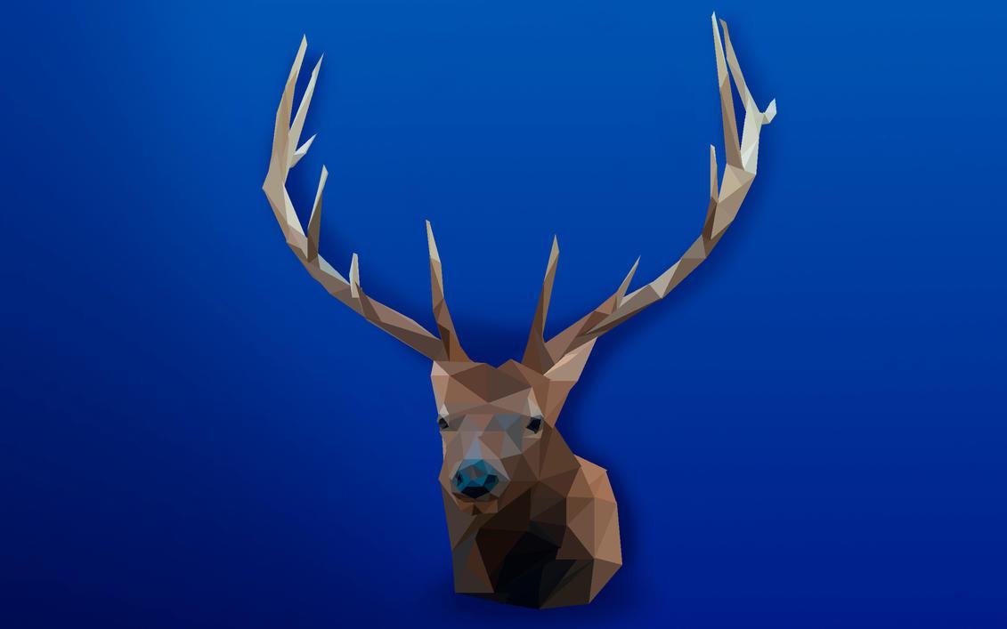 -- Low poly elk -- by 0l-Fox-l0