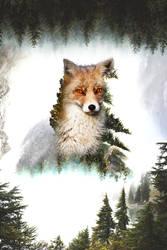 -- Fox forest -- by 0l-Fox-l0