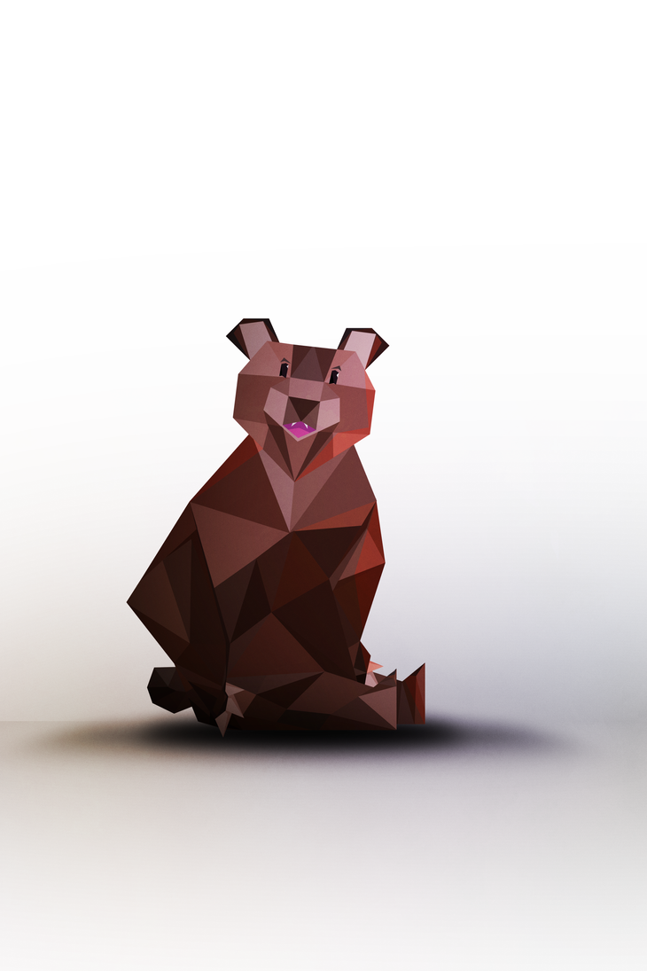 -- Vector the bear -- by 0l-Fox-l0